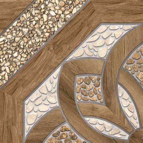 18 x 18 Geo Chrome Cinza Interior/Exterior Wall Tile