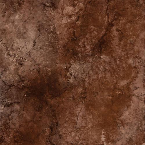 Envirotile Cobblestone , Terra Cotta - 18 Inch X 18 Inch